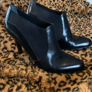 Nine West leather boot shoes